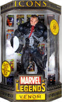 "Marvel Legends Icons ~ 12"" VENOM (UNMASKED) ACTION FIGURE (2006) ~ Toy Biz"