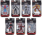 Marvel Legends ~ SPIDER-MAN ACTION FIGURE SERIES 11 SET w/KINGPIN BAF COMPLETE