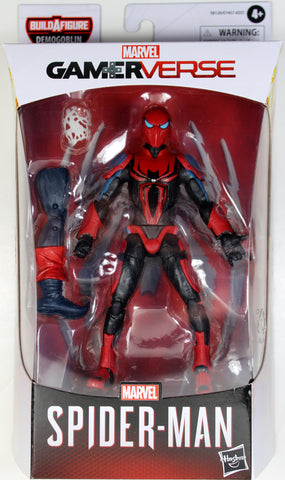 Marvel Legends ~ SPIDER-MAN w/MKIII ARMOR ACTION FIGURE ~ Demogoblin BAF Series