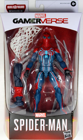 Marvel Legends ~ VELOCITY SUIT SPIDER-MAN ACTION FIGURE ~ Demogoblin BAF Series