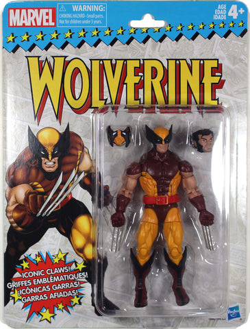 Marvel Legends Vintage Series ~ WOLVERINE ACTION FIGURE ~ Hasbro Superheroes
