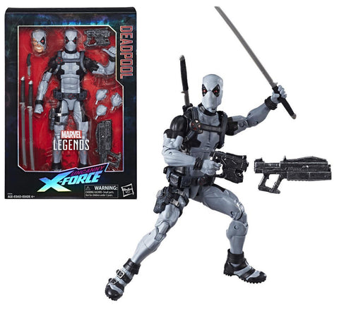 "Marvel Legends ~ 12"" DEADPOOL ACTION FIGURE (X-FORCE EDITION)(2018) ~ Hasbro"