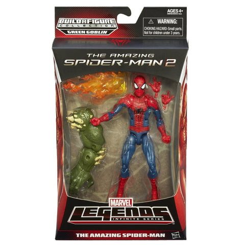 Marvel Legends ~ AMAZING SPIDER-MAN (MOVIE) ACTION FIGURE ~ Ultimate Green Goblin Spider-Man Series ~ Hasbro