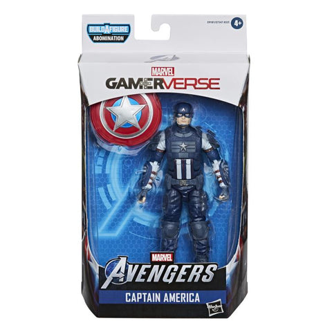 Marvel Legends ~ CAPTAIN AMERICA (AVENGERS: THE GAME) ACTION FIGURE ~ Abomination BAF Series ~ PRE-ORDER