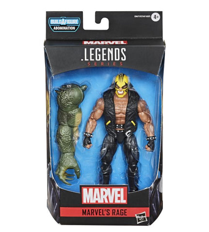 Marvel Legends ~ RAGE ACTION FIGURE ~ Abomination BAF Series ~ PRE-ORDER