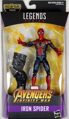 Marvel Legends ~ IRON SPIDER-MAN ACTION FIGURE ~ Thanos BAF Avengers Series ~ Hasbro