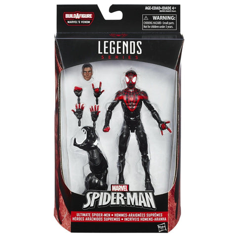 Marvel Legends ~ ULTIMATE SPIDER-MAN (MILES MORALES) ACTION FIGURE ~ Space Venom BAF Spider-Man Series ~ Hasbro