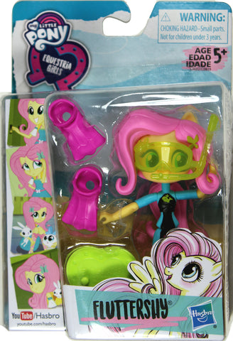 My Little Pony Equestria Girls ~ FLUTTERSHY FIGURE ~ Mall Collection