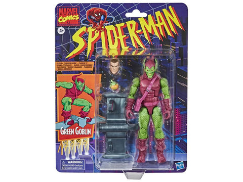 Spider-Man Retro Marvel Legends ~ GREEN GOBLIN ACTION FIGURE ~ PRE-ORDER