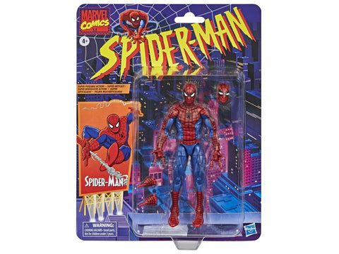 Spider-Man Retro Marvel Legends ~ SPIDER-MAN ACTION FIGURE ~ PRE-ORDER