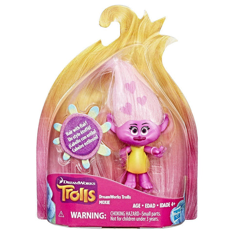 Trolls ~ MOXIE FIGURE ~ Small Troll Town Collectibles Series