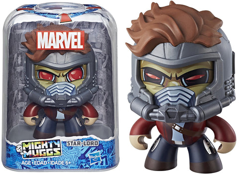 Mighty Muggs ~ STAR-LORD FIGURE (MOVIE VERSION) ~ Hasbro Marvel