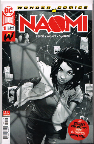 NAOMI #1 (FINAL PRINTING VARIANT) COMIC BOOK ~ DC Comics