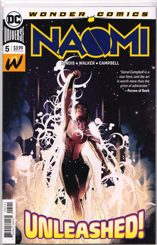 NAOMI #5 (1ST PRINTING) COMIC BOOK ~ DC Comics