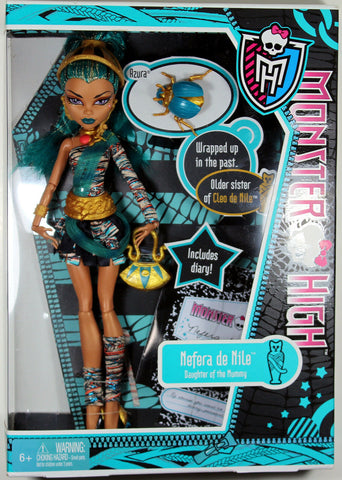 Monster High ~ NEFERA DE NILE DOLL ~ UNOPENED ~ MATTEL