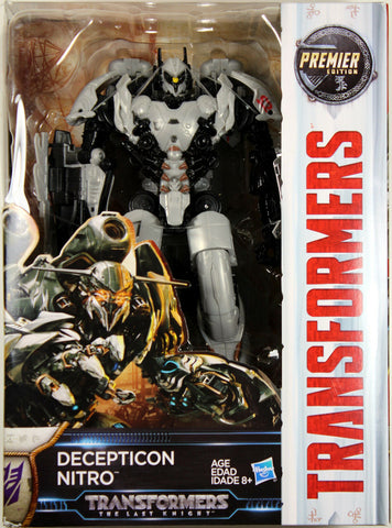 Transformers: Last Knight ~ Decepticon NITRO ACTION FIGURE ~ Voyager Class