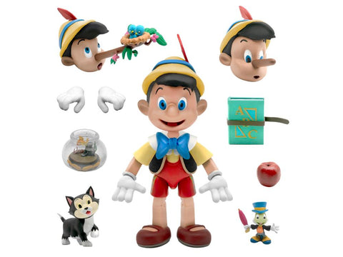 Disney Ultimates ~ PINOCCHIO ACTION FIGURE ~ Super 7 (PRE-ORDER)