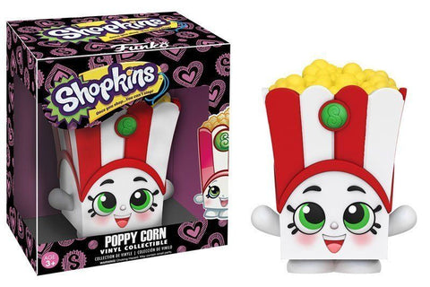 Funko Shopkins ~ POPPY CORN VINYL FIGURE ~ Designed by Moose Toys