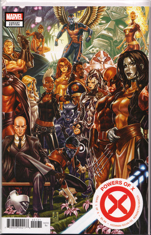 POWERS OF X #1 (MARK BROOKS VARIANT) ~ Marvel Comics