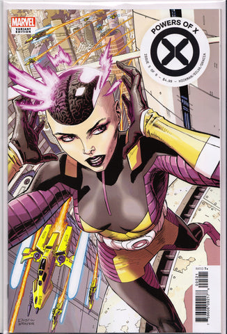 POWERS OF X #5 (NEW CHARACTER VARIANT) ~ Marvel Comics