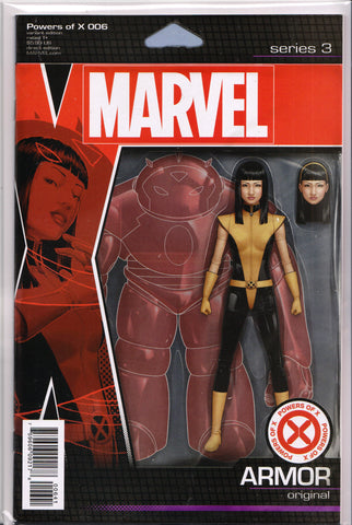 POWERS OF X #6 (ACTION FIGURE VARIANT) COMIC BOOK ~ Marvel Comics