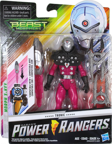"Power Rangers Beast Morphers ~ 6"" TRONIC ACTION FIGURE ~ MMPR Morphin"