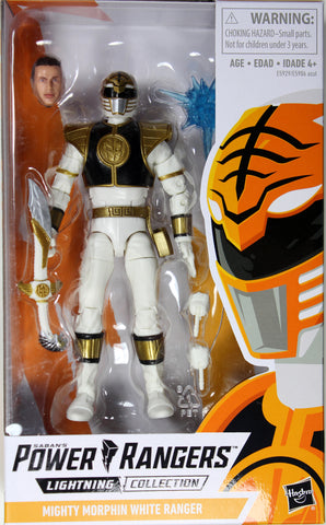 Power Rangers Lightning Collection ~ WHITE RANGER ACTION FIGURE ~ Hasbro