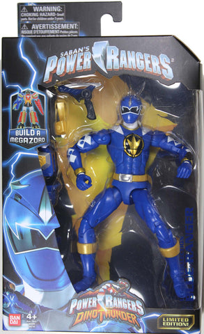 Power Rangers Dino Thunder ~ BLUE RANGER ACTION FIGURE ~ Bandai