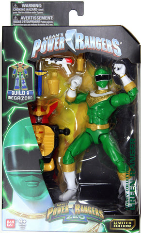 Power Rangers Zeo ~ GREEN RANGER ACTION FIGURE ~ Bandai