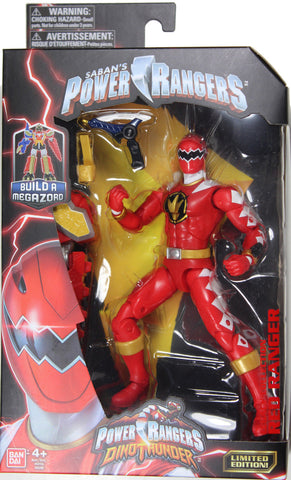 Power Rangers Dino Thunder ~ RED RANGER ACTION FIGURE ~ Bandai