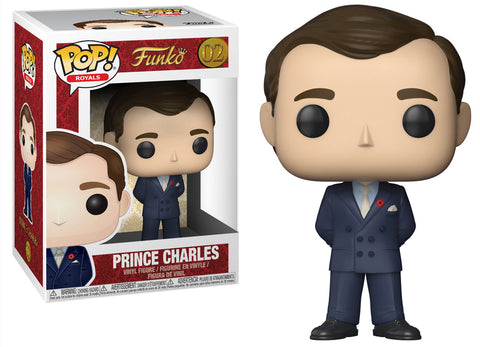 Funko POP! Royals ~ PRINCE CHARLES VINYL FIGURE ~ England Royalty