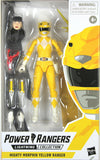 Power Rangers Lightning Collection ~ YELLOW RANGER ACTION FIGURE ~ MMPR Hasbro