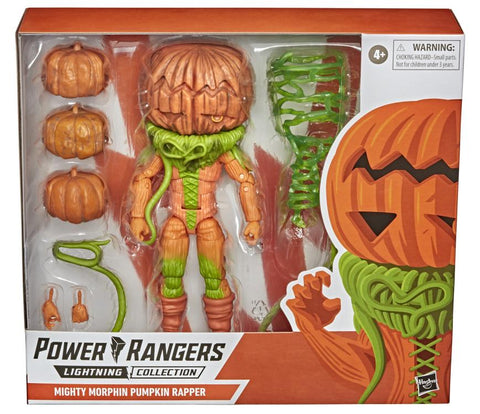 Power Rangers Lightning Collection ~ PUMPKIN RAPPER DELUXE ACTION FIGURE ~ Hasbro