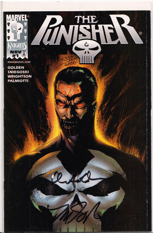 THE PUNISHER #1 (MARVEL KNIGHTS)(DYNAMIC FORCES JAE LEE EXCLUSIVE) COMIC BOOK ~ Marvel Comics