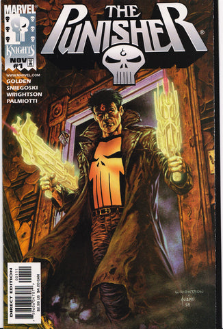 THE PUNISHER #1 (MARVEL KNIGHTS) COMIC BOOK ~ Marvel Comics