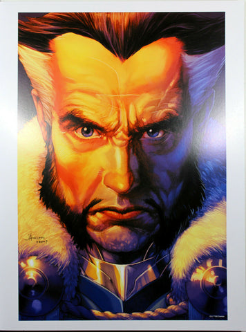 "RAS AL GHUL ART PRINT by Jay Anacleto ~ 12"" x 16"" ~ DC Year of the Villain"
