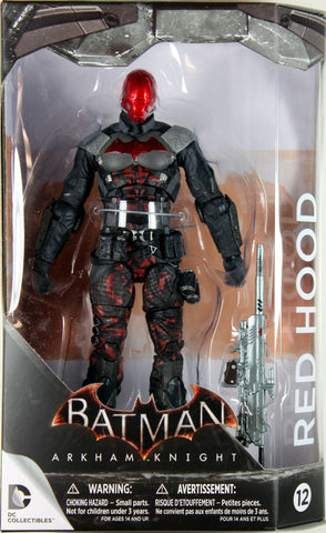 DC Collectibles ~ RED HOOD ACTION FIGURE ~ Batman Arkham Knight / Asylum