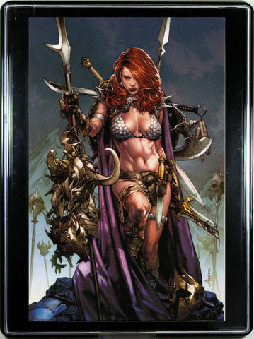 RED SONJA #1 Framed (JAY ANACLETO) ~ Custom Home Decor Comic Book Wall Art