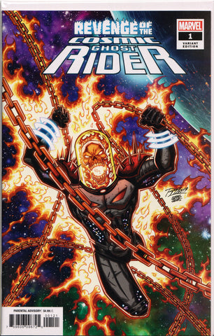 REVENGE OF THE COSMIC GHOST RIDER #1 (RON LIM VARIANT) COMIC BOOK ~ Marvel Comics