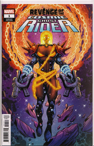 REVENGE OF THE COSMIC GHOST RIDER #1 (LUBERA VARIANT) COMIC BOOK ~ Marvel Comics