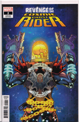 REVENGE OF THE COSMIC GHOST RIDER #2 (LUBERA VARIANT) COMIC BOOK ~ Marvel Comics