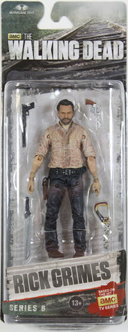 The Walking Dead ~ RICK GRIMES (TV Series 6) Action Figure ~ McFarlane Toys
