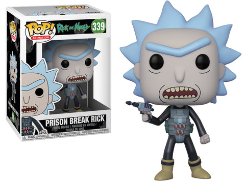 Funko POP! Animation ~ PRISON ESCAPE RICK (#339) VINYL FIGURE ~ Rick and Morty