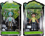 "Rick and Morty ~ 5"" RICK & MORTY ACTION FIGURE SET ~ Funko R+M"