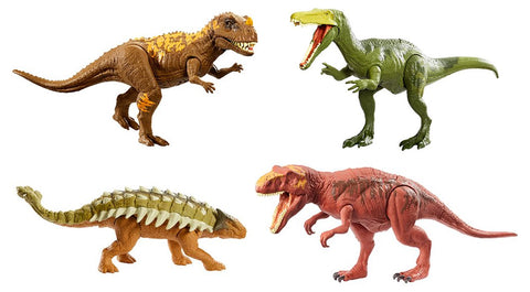 JURASSIC WORLD ELECTRONIC ROARIVORES COLOR VARIANTS CASE ~ Mattel