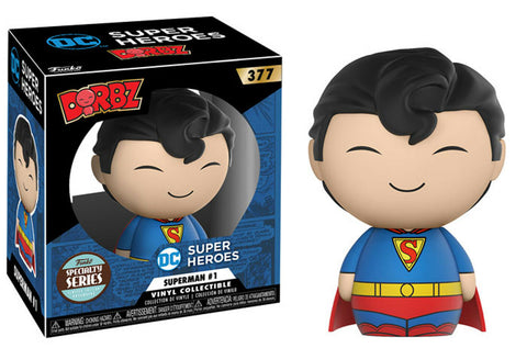 Funko Dorbz ~ SUPERMAN #1 SPECIALTY SERIES VINYL FIGURE ~ DC COMICS