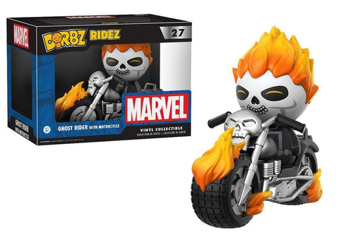 Funko Dorbz Ridez ~ GHOST RIDER w/MOTORCYCLE VINYL FIGURE SET ~ Marvel