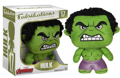 Funko Fabrikations ~ THE INCREDIBLE HULK PLUSH DOLL ~ IN STOCK ~ Marvel