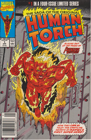 SAGA OF THE ORIGINAL HUMAN TORCH #1 COMIC BOOK ~ Marvel Comics