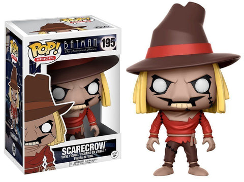 Funko POP! DC Heroes ~ SCARECROW VINYL FIGURE ~ BATMAN: THE ANIMATED SERIES